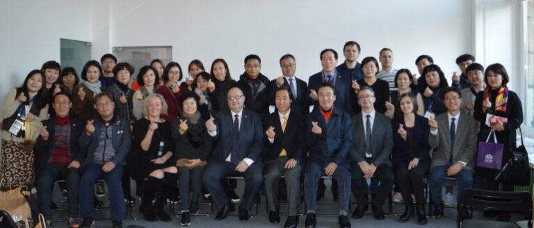 LVIV AND SOUTH KOREA EXCHANGED EXPERIENCE IN EDUCATIONAL AREA