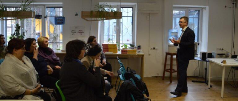 Для вчителів львівських шкіл організували «Майстерню підприємництва»