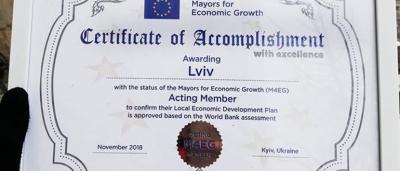 "LOCAL ECONOMIC DEVELOPMENT PLAN (""Mayors for Economic Growth"")"