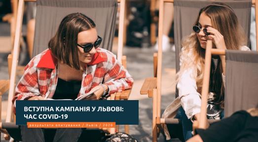 Вступна кампанія у Львові: пандемія COVID-19